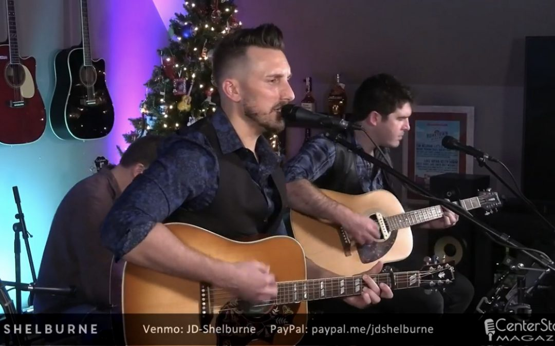Shelburne performs a virtual show on New Years Eve to 220,000 viewers!
