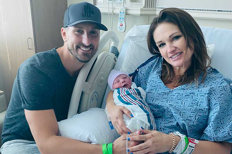 Rising Country Singer/Songwriter JD Shelburne and Wife Amy Jo Announce The Birth Of Jax Dillon Shelburne