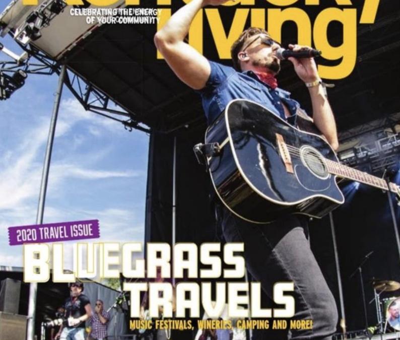 "Kentucky Living Magazine ""Cover Boy""!"
