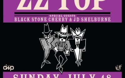 Shelburne to open for the Legendary ZZ TOP!