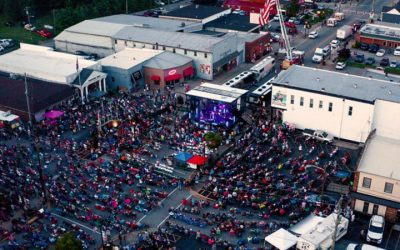 Thousands Attend JD Shelburne's Hometown Show & Album Release Party In Taylorsville, Kentucky